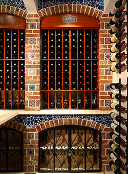 Barcelona Series wall mounted wine cellar