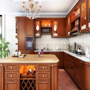 Custom home kitchen cupboard design