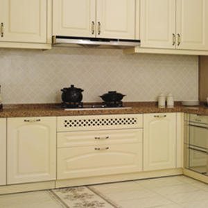 Custom classical kitchen cabinet design