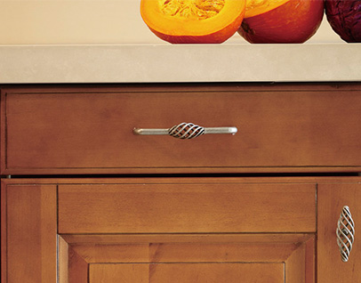 DS5002 North American Maple Scene wooden kitchen cabinet