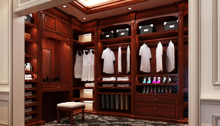 Earl's House wooden clothes wardrobe