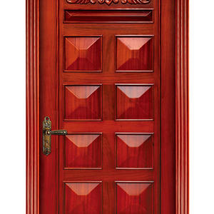 low price Solid patio doors,solid wood door, preferred BuilDec, experienced