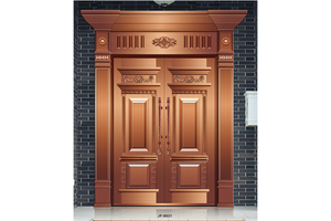 customized fashion External double french doors,Copper Door, preferred BuilDec