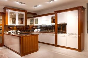 Corner Kitchen Cabinet - KITCHEN 22