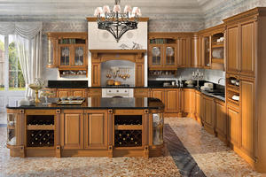 country kitchen with a low price,provide a range of customized kitchen.