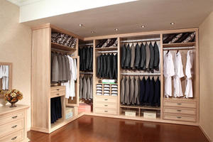 Wooden Wardrobe-WALK-IN CLOSET  23