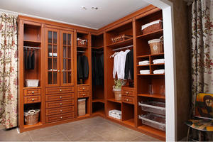 Solid Wood Bedroom Furniture - Walkin Closet 6