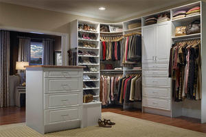 Solid Wood Bedroom Furniture - Walkin Closet 16