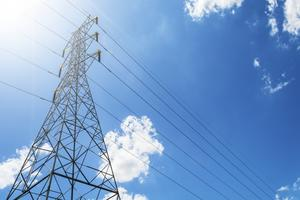 Power Transmission Line Lattice Tower