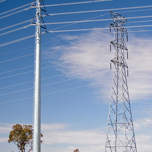 Power Pole, steel mono pole,steel pole, steel or metal mast
