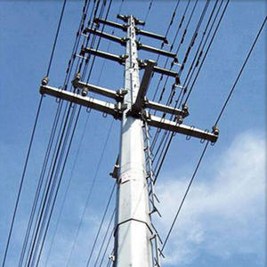 China Transmission Pole,tangent or dead end pole, transmission structure manufacturer