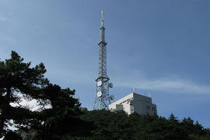 Microwave Radio TV Broadcasting Steel Tower