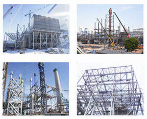 Acid Gas And Dust Removal System Steel Structure