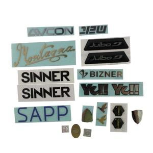 Chinese customized logo sticker manufacturer