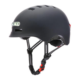 Bike helmet with LED torch light  manufacturer
