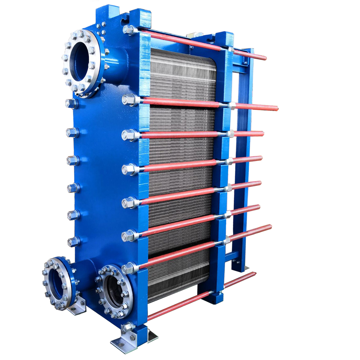 semi-welded plate heat exchanger