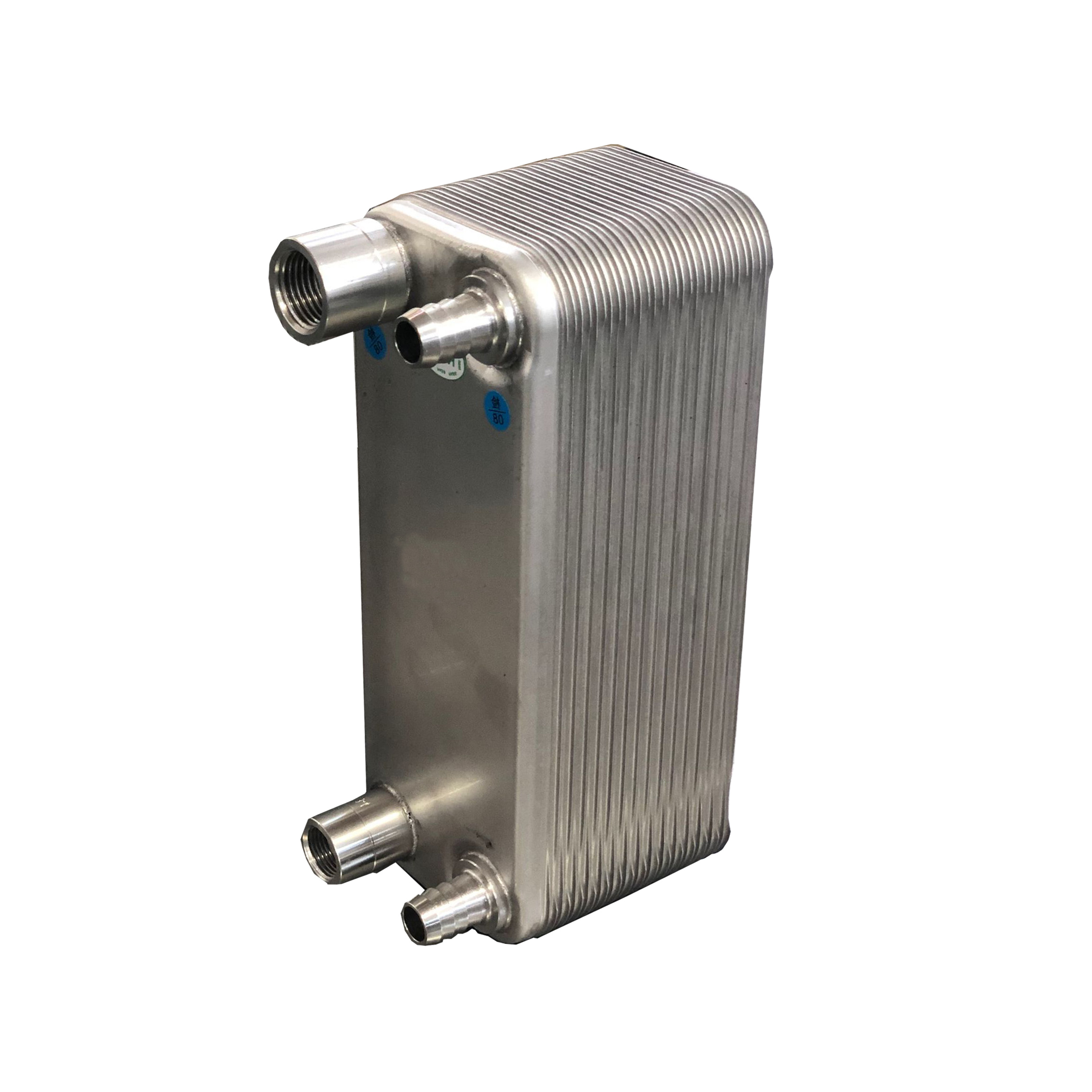 fusion brazed plate heat exchanger