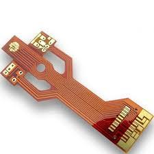 4L 0.1mm-hole PI stiffener-0.025mm flex circuit