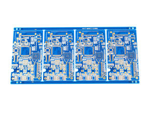 local manufacturer 2oz blue TIEQ gold-thickness 5um for pcb sale