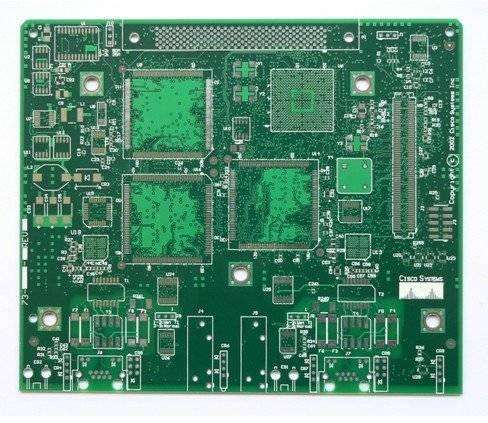 4L immersion silver black core fr4 printed circuit board