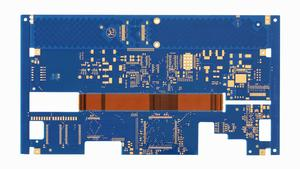 electronics 6L R-FPCB Thickness1.6mm blue-immersion gold expert