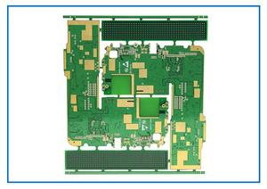 fabrication 4L RF Buried capacitance of embedded circuit board exporter