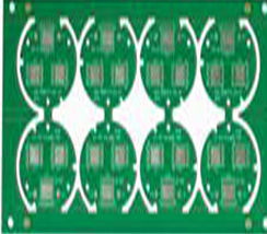 2L 4-4mil HASL Copper base circuit board