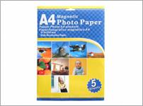 magnetic printer paper