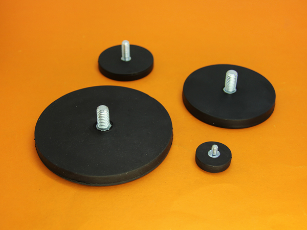 rubber coated rare earth magnets