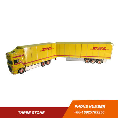 TEKNO 1/50 SCANLA TRACTOR WITH TRAILER MODEL