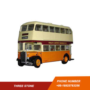 Customized double decker bus models factory