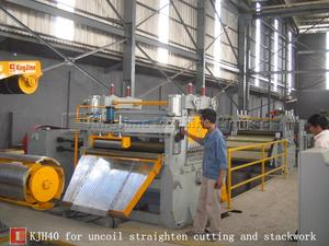 cutting line with slitting machine