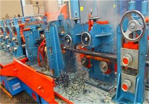 High frequency welding pipe making machine