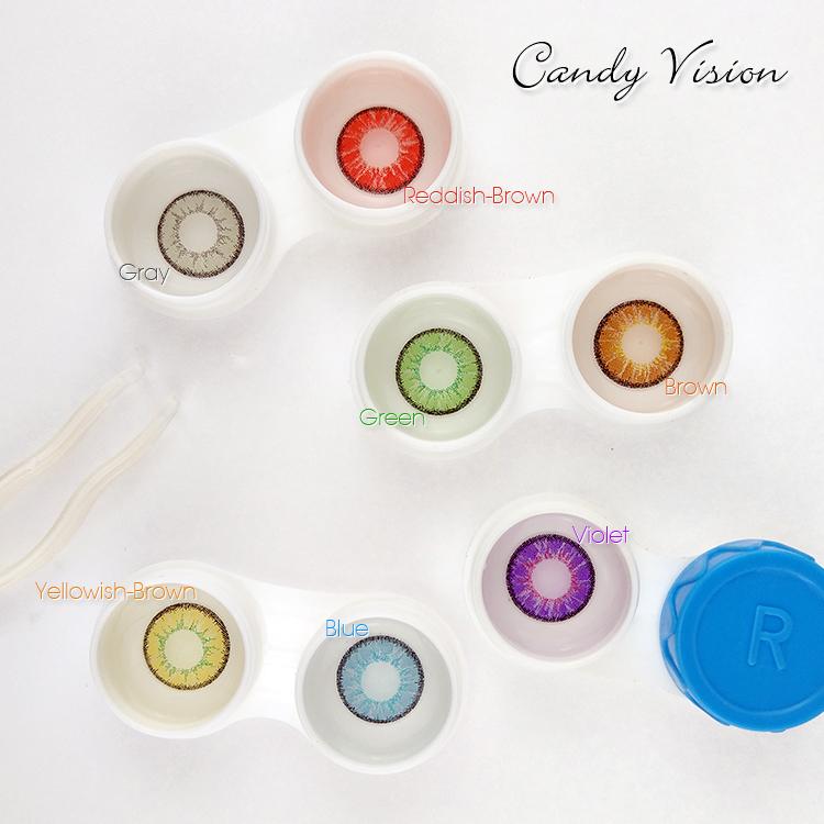 color cosmetic contact lens
