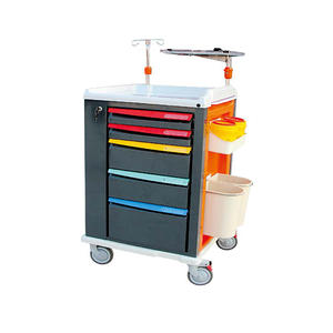 BPM-GET01 Luxurious ABS Emergency Medical Trolley