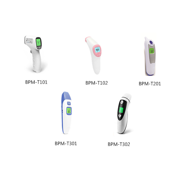 BPM-T302 Bluetooth Forehead & Ear Digital Thermometer