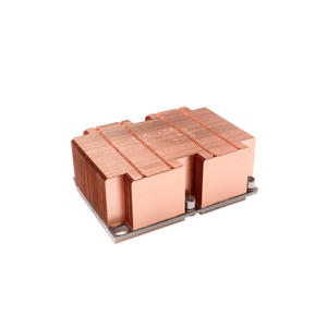 Custom-made High Quality Platform Socket P Skived Copper Heatsink Manufacturer