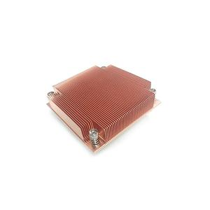 Customized Socket R&B Skived Fin Copper Heat Sink Manufacturer Supplier