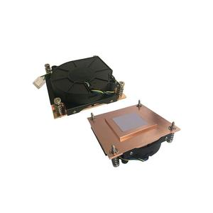 PT5G01 Socket H Copper Skived Passive CPU Heatsink With Fan