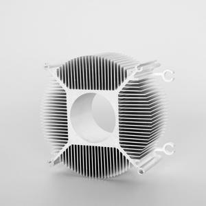 Aluminum extruded Heatsinks custom extrusions heatsinks supplier