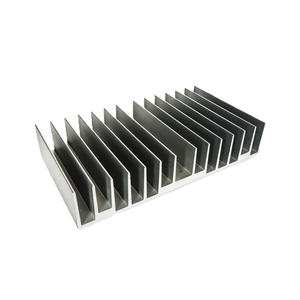 Flat Wide Aluminum Extrusion Heatsinks