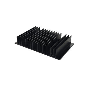 Aluminum extruded heatsinks China custom Extrusions supplier