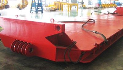 230 tons drop deck