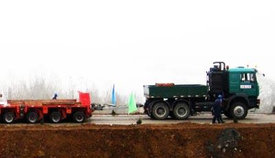 power booster modular trailer