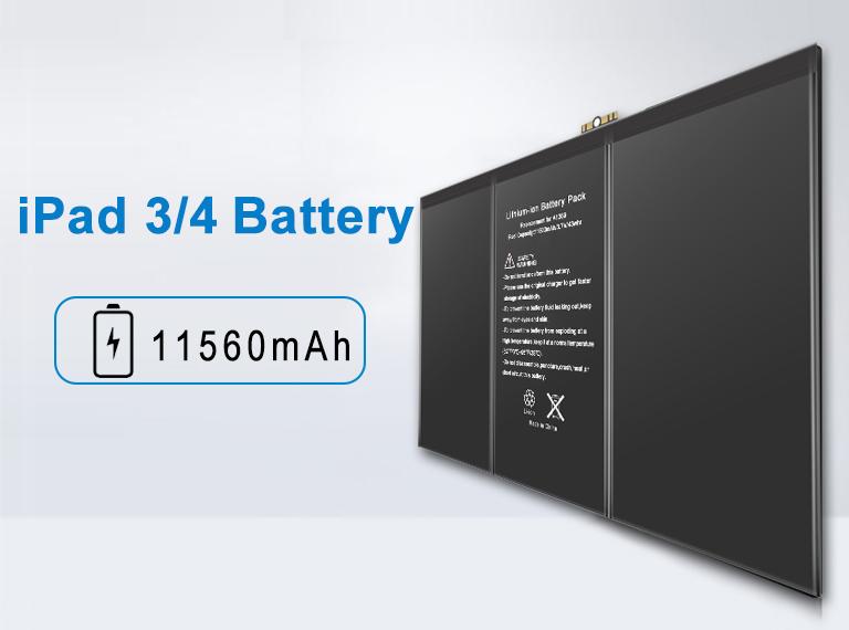 prix de la batterie ipad apple