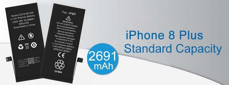 Proveedores de batería del teléfono móvil de 8p del iPhone