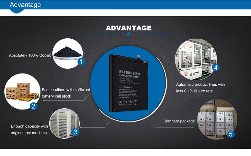 4000Mah OEM Huawei mobile battery