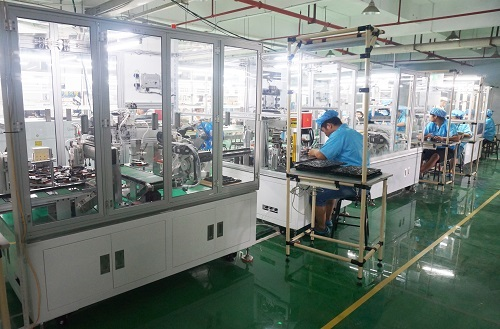 cell phone battery manufacturing