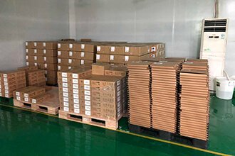 Production line packaging