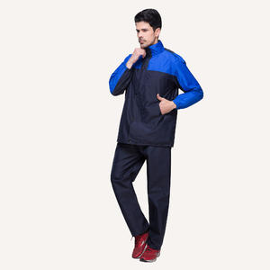 7083 Multi-color Waterproof Outdoor Suit Mens Rain Jacket